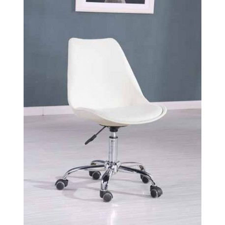 BalanRegulable Gas Escritorio A Silla Ruedas Diseno Blanca Base 29WHEDI