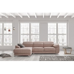 SOFA 3 PL+CHAISE/CANAPE DOROTY SERIE 400